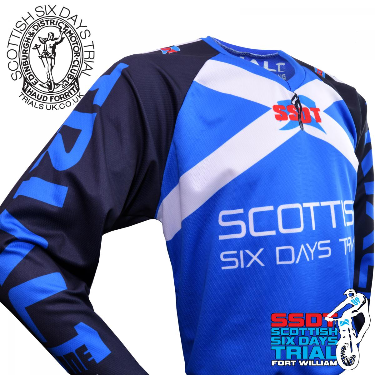 Details about 2019 SSDT -The Scottish Six Days Trial Competition Riding  Shirt