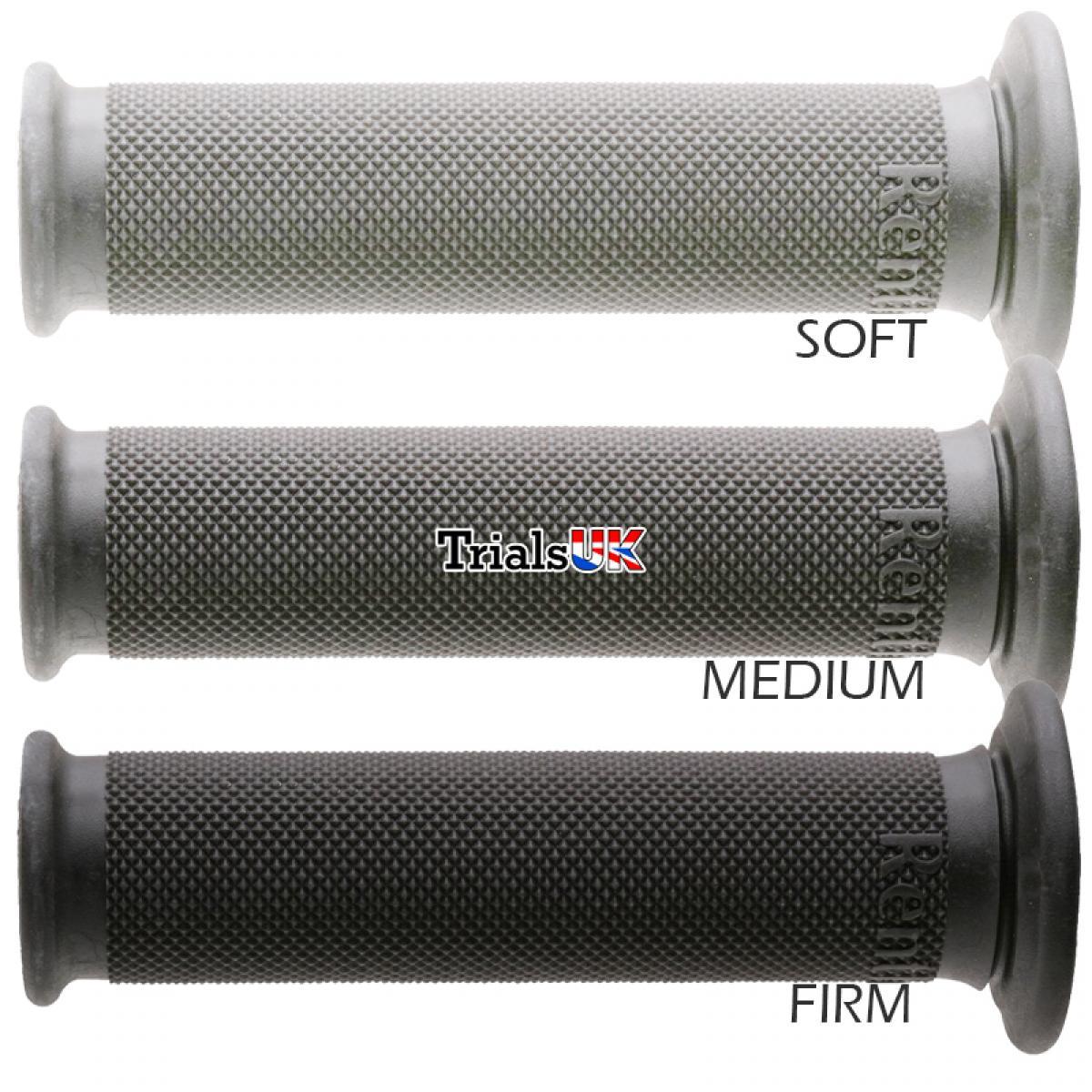 Trials//MX//Offroad Soft//Medium//Firm Compounds Renthal Grip Tech Trials Grips