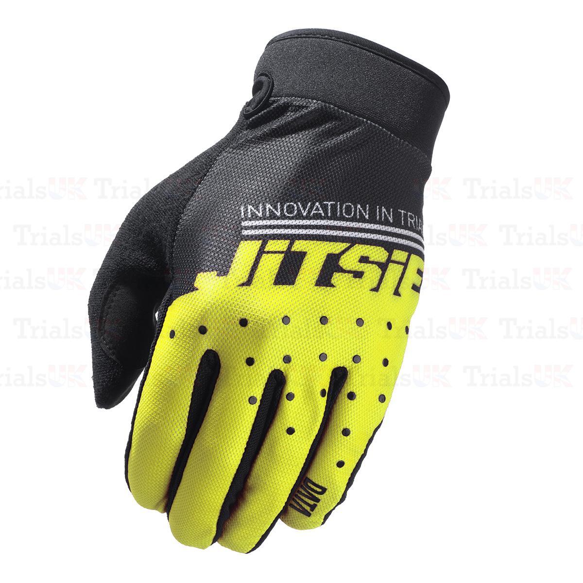 S3 POWER Trials Riding Gloves Yellow//Black-Trials-Offroad-Adventure FreePP