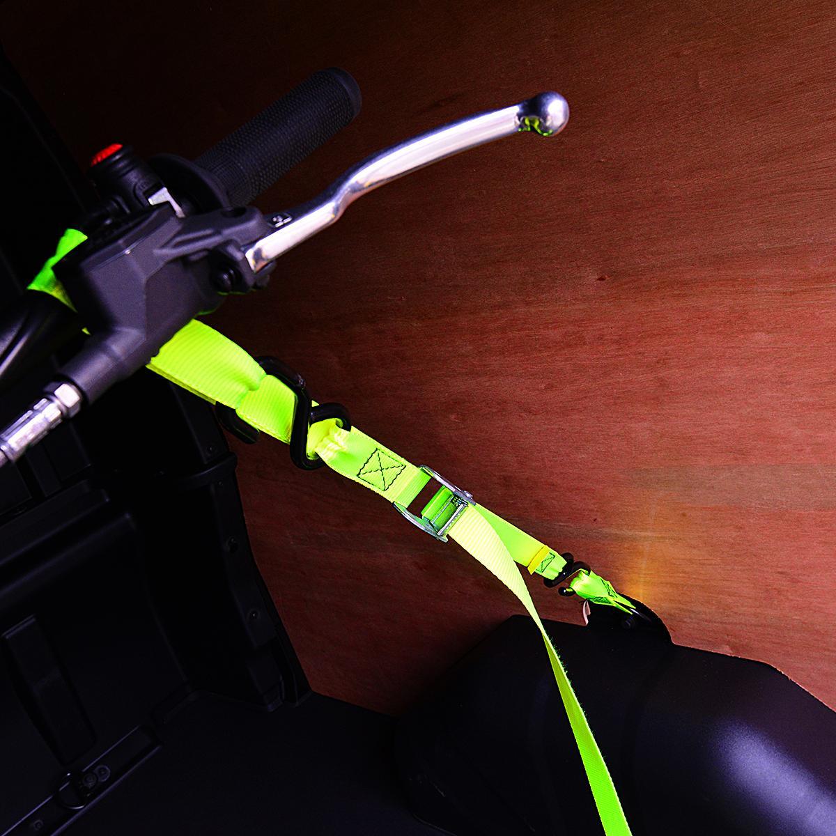 Hayabusa Motorcycle Engine Jet Ski: 2 X Tough Non Scratch Tie Down Straps For Motorcycles