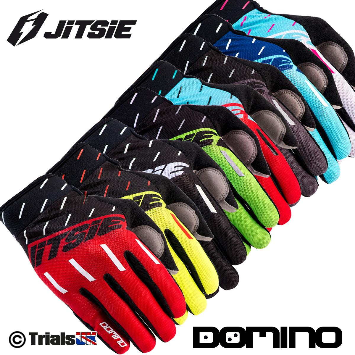 Jitsie Domino Race Fit Trials Gloves Professional Offroad Standard